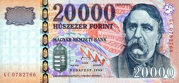курс угорського форинта